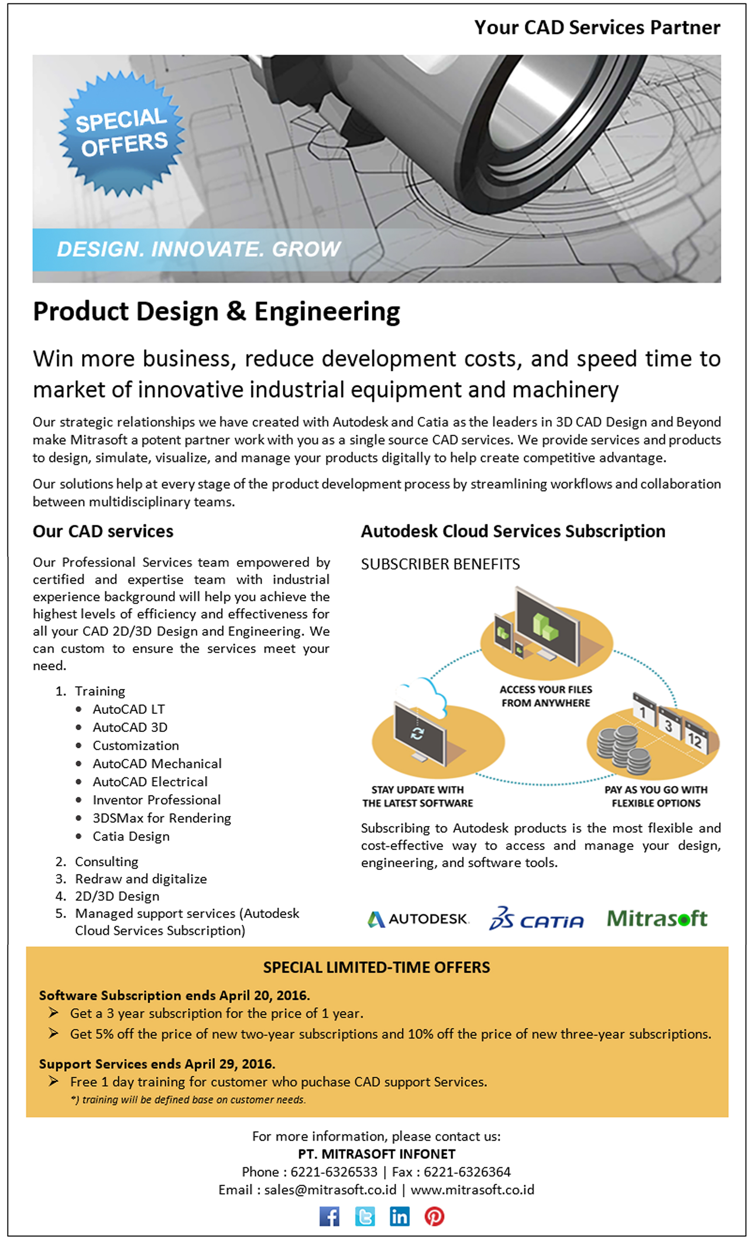Web_Flyer Autodesk Services